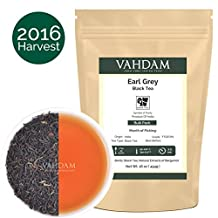 Vahdam Earl Grey Tea Bulk Pack, 16-ounce (Makes 180-230 Cups), Fruity & Citrusy, 100% Natural Bergamot Extracts, Loose Tea …