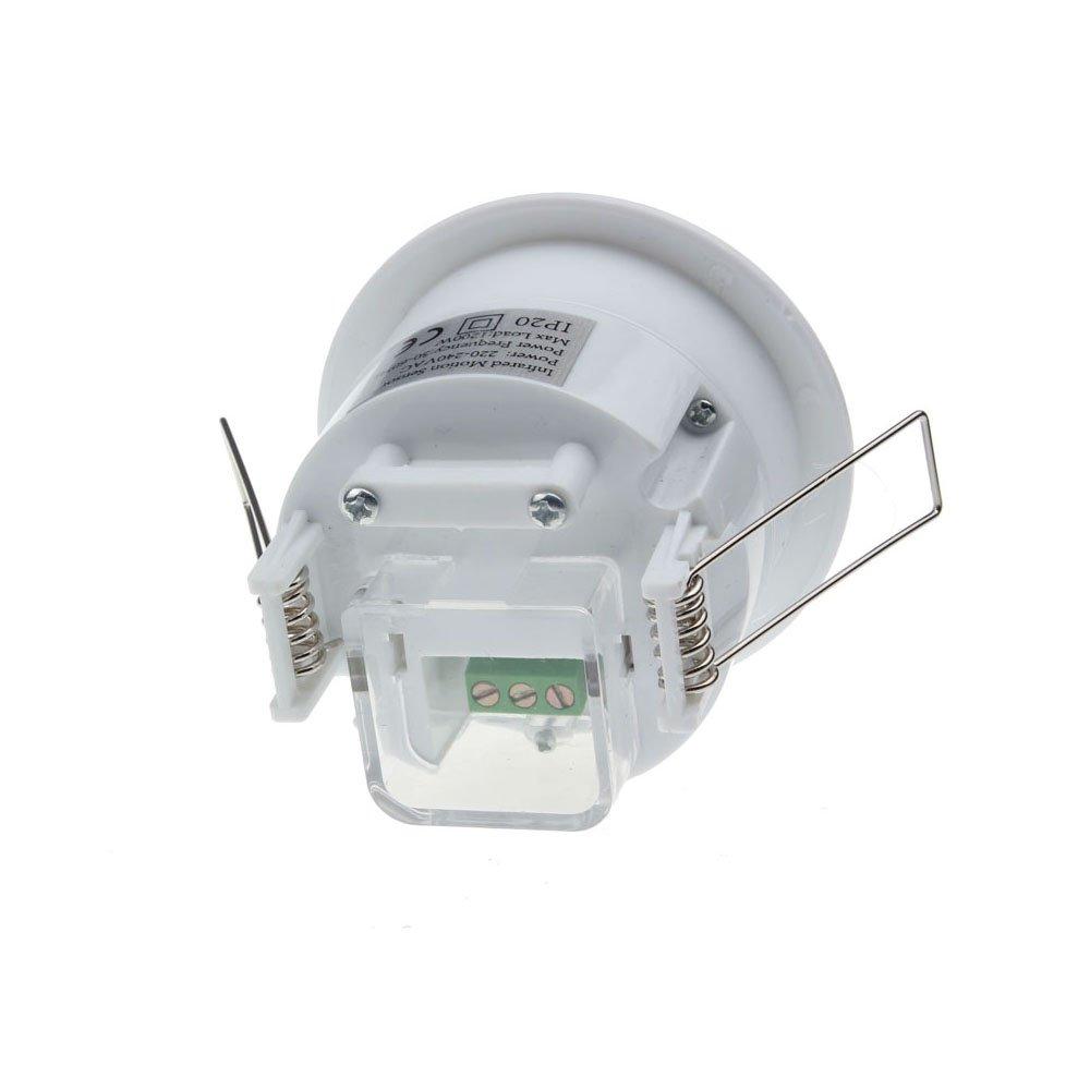 Amazon.com : Hanperal 110v-220v 360° Infrared Recessed PIR ...