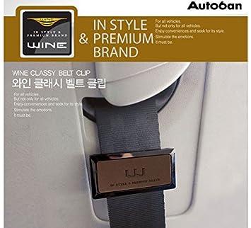 Wine Art Crab Car Seat Belt clip auto cintura di regolazione stop stopper clip Easy Fit cintura clip a clip tipo