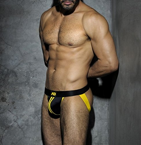 Addicted ADF13 STRIPE FETISH JOCKSTRAP AMARILLO (l)