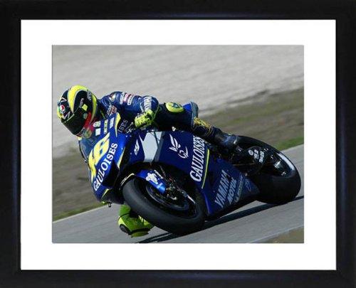 Valentino Rossi Framed Photo (Photograph Valentino Rossi)