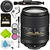 Nikon AF-S DX NIKKOR 18-300mm f/3.5-6.3G ED VR Lens Advanced Bundle