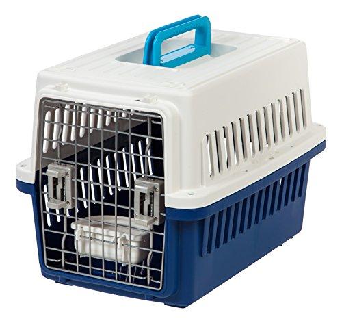 IRIS Small Pet Travel Carrier, 5 Pack, White/Navy