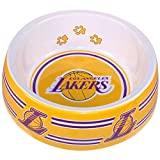 Sporty K9 Los Angeles Lakers Dog Bowl, Large, My Pet Supplies