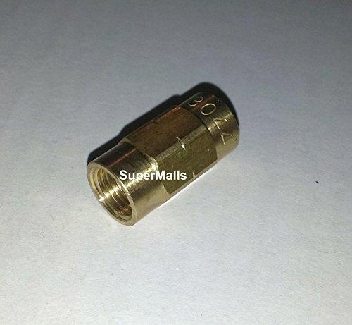 AAS Bubble Flare (ISO) Brake Line Union 276000, 5 Pcs, M10 X 1.0