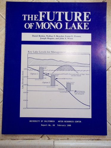The Future of Mono Lake - Report of the Community and Organization Research Inst