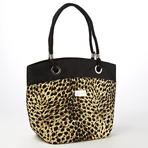 Fit & Fresh Signature Collection Ladies' Brisbane Insulated Tote with Rope Handles (Safari (Safari Lunch)