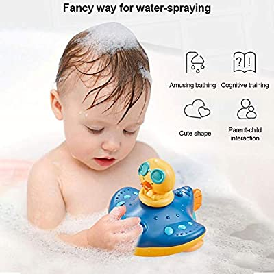 Electric Automatic Baby Bath Squirt Toy,Devil Fish Water Spray Bathtub Toys,Floating Bathtub Toys,Baby Bathtime Shower Gift for Toddler,Infant,Boys,Girls,Kids: Home Improvement