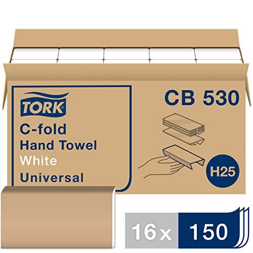 Tork Universal CB530 C-FoldPaper Hand Towel, 1-Ply, 12.75