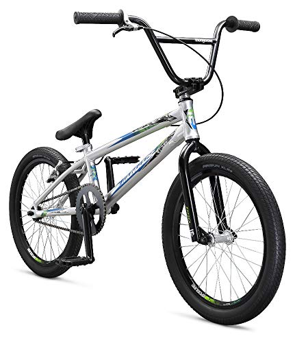 Mongoose Title Pro XXL BMX Race Bike for Beginner to Intermediate Riders, Featuring Lightweight Tectonic T1 Aluminum Frame and Internal Cable Routing with 20-Inch Wheels, - Bmx Bike Rim