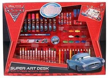 Disney Cars 2 Super Art - Escritorio: Amazon.es: Juguetes y juegos