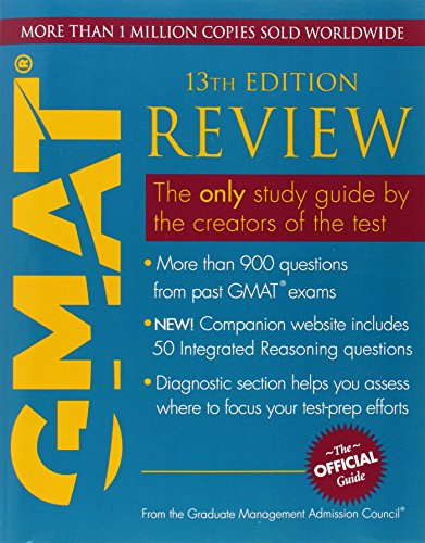 Pdf Test Preparation The Official Guide for GMAT Review