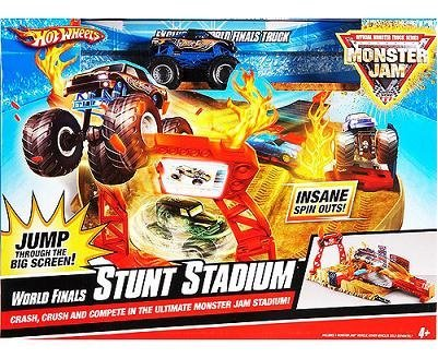 Hot Wheels Monster Jam World Finals Stunt Stadium Set