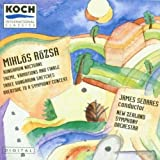 Rozsa;Orchestral Music Vol.1 By Sedares ,,New Zealand So (1994-05-12)