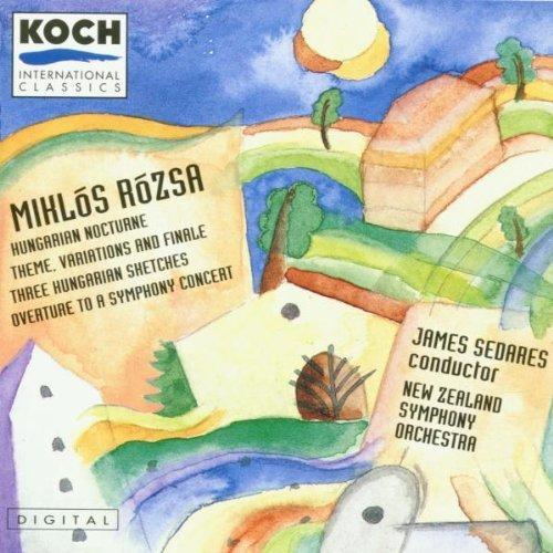Rozsa;Orchestral Music Vol.1 By Sedares ,,New Zealand So (1994-05-12) by Koch