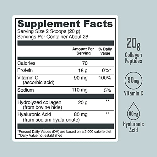 Vital Proteins, Collagen Peptides, Unflavored, 1.25 lbs (567 ...
