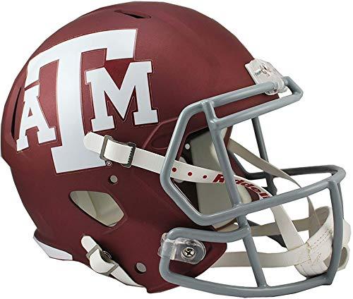 - Sports Memorabilia Riddell Texas A&M Aggies Revolution Speed Full-Size Replica Football Helmet - College Replica Helmets