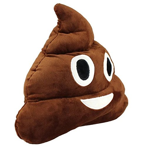 13.8'' Cute Emoji Emoticon Cushion Poo Shape Pillow Stuffed Doll Toy Plush Toy Children Adult Home Decor,Great Birthday Gift Christmas Gift for Boys and Girls by Sealive (Image #3)