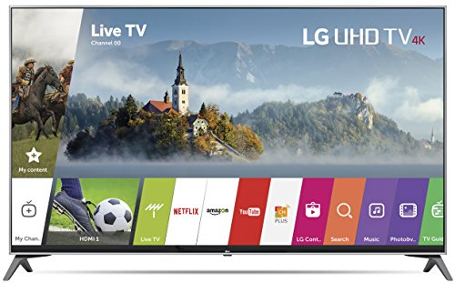 LG Electronics 55UJ7700 55-Inch 4K Ultra HD Smart LED TV (2017 Model) (Certified Refurbished)