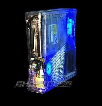 Ghost Case - Carcasa transparente para Xbox 360 Slim: Amazon ...