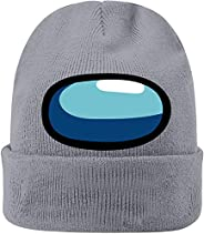 OperationCwrl Among Us Hat Among Us Merch Cosplay Autumn Winter Knitted Caps Soft Ski Hat Warm Caps for Men Wo