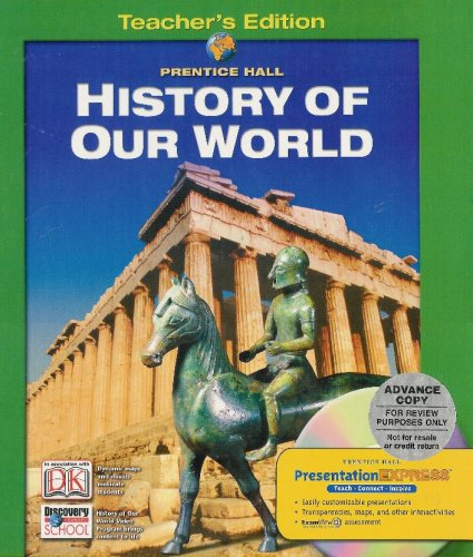 History Of Our World, Teachers Edition
