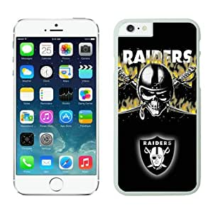 Iphone 6 Cover Case Oakland Raiders iPhone 6 5.5 Inches Cases 10 White TPU Protective Phone Case