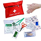 ONEK First Aid Kit Medical Bag Survival, Portable Medical Survival Bag,Mini Emergency Bag for Car, Home,Picnic,Camping, Hiking,Travelling and Other Outdoor Activies