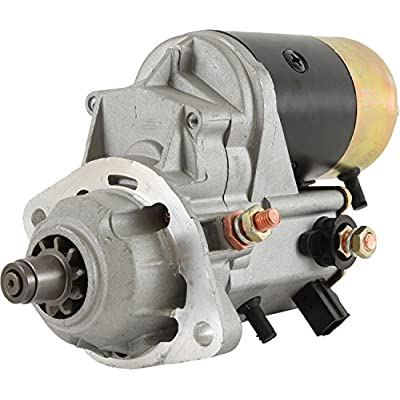 DB Electrical SND0712 Starter for TUG Air conditioner AC25D Cummins QSB 4.5, GPU GPU 400-100 400-120 400-140 Cummins QSB 6.7 Tier III, 400-60 Magnum Cummins QSB 4.5 Tier III: Automotive