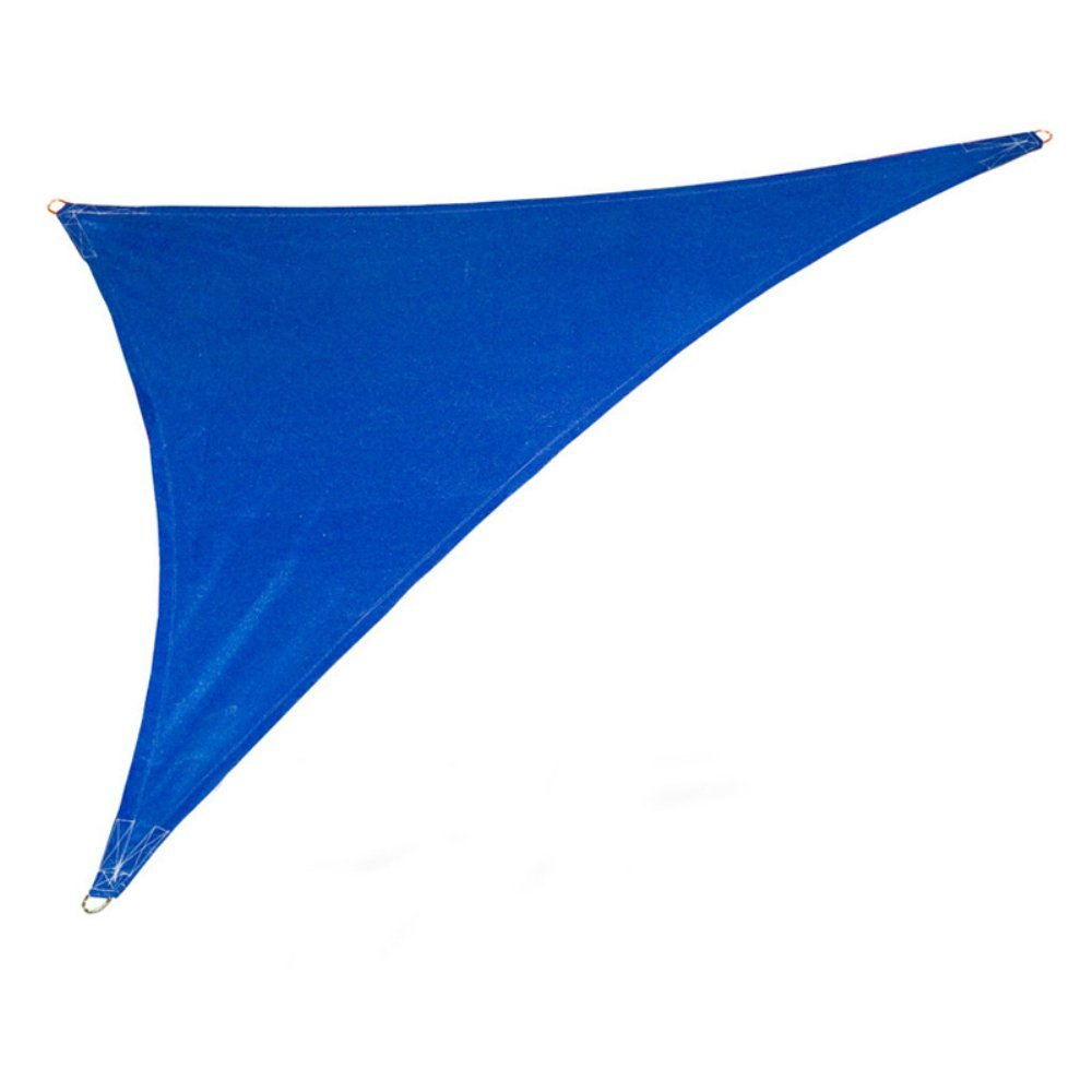 Coolaroo 473983 Coolhaven 15'x12'x9' Sapphire w Kit Shadesail, Right Triangle