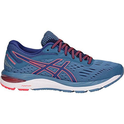 ASICS Gel-Cumulus 20 Women's Running Shoe, Azure/Blue Print, 5.5 M US