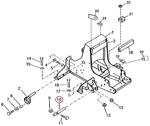 Amazon Com T122576 Pin Fits John Deere 450g 550g 650g Industrial