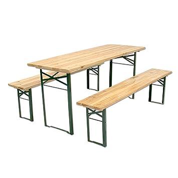 Tavolo Birreria Ikea.Evergreen House Set Birreria In Legno 3 Unita