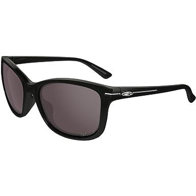 Amazon.com: Oakley Womens Drop In Polarized Sunglasses, Onyx/OO Grey ...