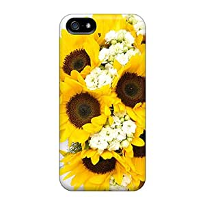 For Iphone Case, High Quality Sunflower Dream For Iphone 5/5s Cover Cases