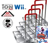 4 x Wii Dance Dance Revolution Limited Edition iON Pro Arcade Metal Dance Pad with Handle Bar + Danc