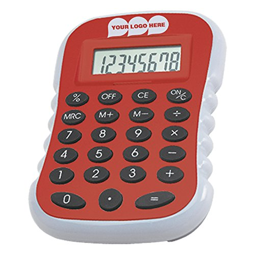 Large Calculator - 50 Quantity - $5.29 Each - PROMOTIONAL PRODUCT / BULK / BRANDED with YOUR LOGO / CUSTOMIZED by CloseoutPromo