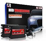 2006 audi a6 ac hid 55 watts - HID-Warehouse® AC 55W HID Xenon Conversion Kit with Premium Slim Ballast - H7 6000K - Light Blue - 2 Year Warranty