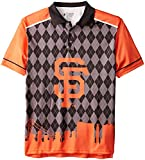 FOCO San Francisco Giants Polyester Short Sleeve Thematic Polo Shirt Extra Large