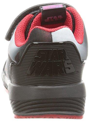 adidas Star Wars El I, Zapatillas Unisex Niños Negro (Negbas/granat/dormet)