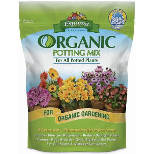 Espoma AP4 4-Quart Organic Potting Mix (Soil Plants Potting)