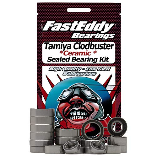 Tamiya Clodbuster Ceramic Rubber Sealed Bearing Kit