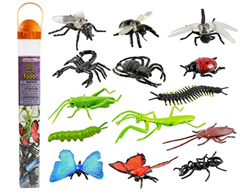 14 Insect Toy Figurines