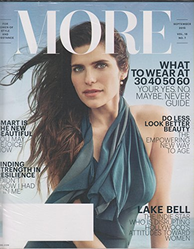 More September 2015 Lake Bell What To Wear At 30, 40, 50, 60