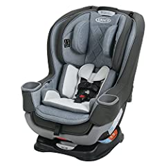 """With 5"""" of extra legroom, the Graco Extend2Fit Platinum Convertible car seat featuring EZ Tight LATCH for an secure and simple installation in 3 easy steps. Extend2Fit Platinum lets your child safely ride rear-facing longer. Extend2Fit Platin..."""