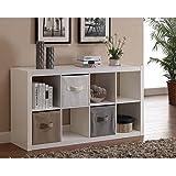 Modern Better Homes and Gardens 8-Cube Organizer, White