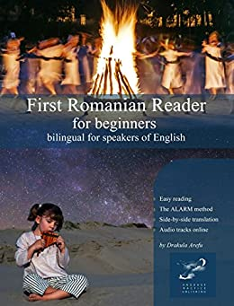 First Romanian Reader beginners bilingual ebook product image
