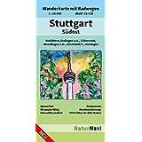 Stuttgart Südost: Wanderkarte mit Radwegen, Blatt 52-539, 1 : 25 000, Ostfildern, Esslingen a.N., Filderstadt, Wendlingen a.N., Kirchheim/T., Nürtingen (NaturNavi Wanderkarte mit Radwegen 1:25 000)