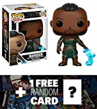 Warden: Funko POP! Games x The Elder Scrolls Online - Morrowind Vinyl Figure + 1 FREE Video Games Themed Trading Card Bundle (14331)