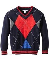 Kitestrings Little Boys' Little Argyle V-Neck Sweater